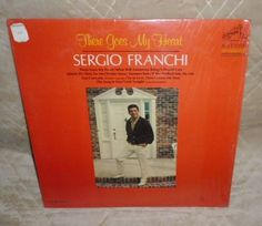 LPM DynaGroove Record: SERGIO FRANCHI There Goes My Heart RCA VICTOR 1967 #LatinPop