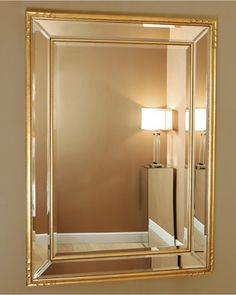 cb969d704724 Casteltermini Mirror with Gold Frame 112.5x82.5 £245 Grey Bathrooms