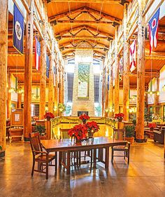 Holiday Getaway to Nebraska City's Lied Lodge | Midwest Living