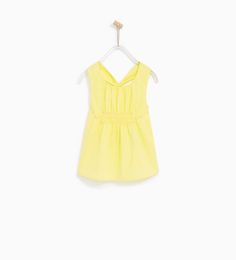 POPLIN TOP WITH KNOTTED BACK-NEW IN-GIRL | 4-14 years-KIDS | ZARA United States