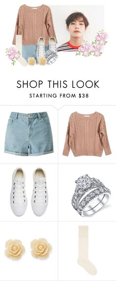 """""""Someone's Getting Married . . ."""" by xxxaskingalexandriaxxx ❤ liked on Polyvore featuring Miss Selfridge, Ryan Roche, Converse, Draper James and Gucci"""