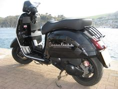 Modern Vespa : post pics of your gts Vespa 300, New Vespa, Scooters, Gears, Motorcycles, Awesome, Modern, Black, Vespas