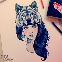 Wolf Girl / Rik Lee Store