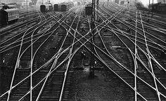 Rüsselsheim, station, 1954  Toni Schneiders