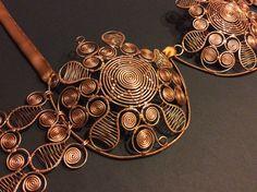 Copper Bra  Metal Bra  Belly Dance Costume Bra  by BeyhanAkman