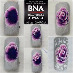 Consulta esta foto de Instagram de @mayaanisimova • 296 Me gusta Creative Nail Designs, Colorful Nail Designs, Beautiful Nail Designs, Creative Nails, Nail Art Designs, Violet Pastel, The Violet, Rasta Nails, Nailart