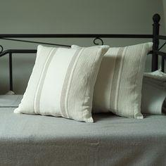 Cream  Linen cushion