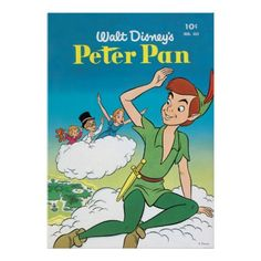 Color drawing to print : Famous characters - Walt Disney - Peter Pan number 357953