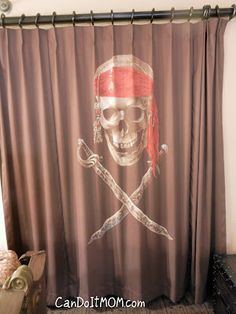 Attractive Pirate Curtain | Inside Disney World Pirate Room | Pinterest | Pirate  Bedroom, Room And Bedrooms