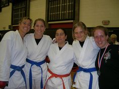The girls of the Karate team at the tournament at Oxy... a total of 5 medals! yay!     nterested In Learning One of The Most Effective Martial Arts?