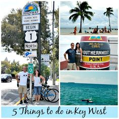 5 things to do in Key West - outside of the Duval Crawl! These are great family friendly vacation activities! There are lots of things for kids to do in Key West!