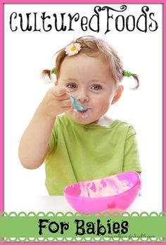 Cultured Foods for Babies