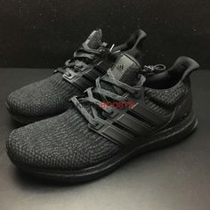 c185babe5b4a9 Adidas Ultra Boost 3.0  Triple Black  BA8920