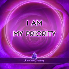 Today's Centering Thought: I Am My Priority #affirmation #coaching