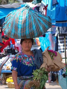 "Back ache? Just lift your load with your head like this #Mayan Lady in #Guatemala where the average height is 5'5""!"