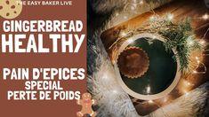 Recette de Pain d'épices version healthy - spécial perte de poids Gingerbread Loaf Recipe