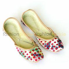 Cutwork Red Handmade Shoes