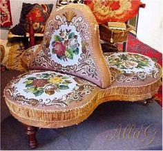 Мягкая мебель викторианской эпохи. Обсуждение на LiveInternet - Российский Сервис Онлайн-Дневников