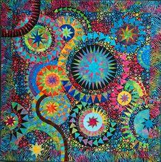 The Colourful Quilt by Susan Garrity, design by Jacqueline de Jonge