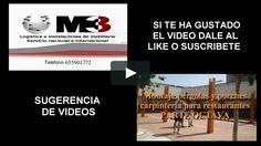 Montaje pérgolas y porches carpintería para restaurantes PARTE SÉPTIMA MONTAJES M3