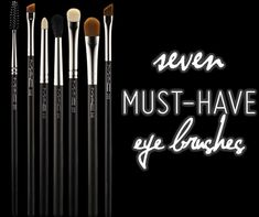 7 MAC Eye Brushes You Must-Have for Eye Makeup - Temptalia Beauty Blog: Makeup Reviews, Beauty Tips