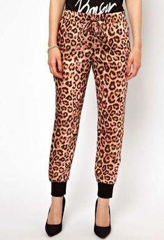 Loose Leopard Cotton Pants · Dame de la mode · Online Store Powered by Storenvy
