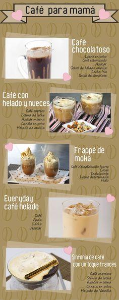 Fáciles recetas para preparar la bebida favorita de mamá