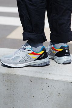 sale retailer 90e8a c6951 Aries x New Balance 990v3 Gives the Dad Shoe Some Pop New Balance, Dad Shoes