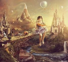 Cute digital art by Russia based artist Eva Lagnim.