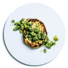 Celery Root Steaks with Tomatillo Salsa Verde