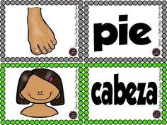 Actividades para trabajar el cuerpo humano en E. Infantil y E Primaria - Imagenes Educativas Spanish Immersion, Spanish Class, My Little Pony, Diana, Teacher, School, Mickey Mouse, Anime, Spanish