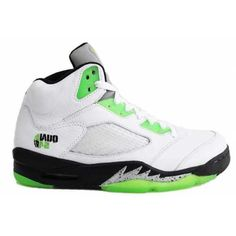 super popular a00e7 3c65f Air Jordan 5 (V) Retro Quai 54 White Black Metallic Silver Radiant Green  from Reliable Big Discount! Air Jordan 5 (V) Retro Quai 54 White Black  Metallic ...