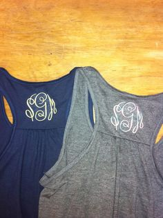 $19.99 A personal favorite from my Etsy shop https://www.etsy.com/listing/178633565/ladies-monogram-bella-tank-tops