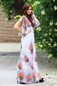 maxi dresses with sleeves - Google Search