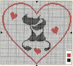 Como hacer bordados en punto de cruz para San Valentin08