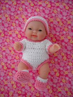 Tiny Baby Doll - yes, I make clothes for them.