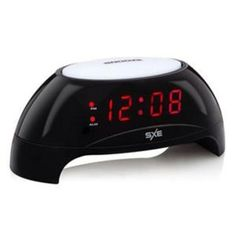 SXE by Westclox Digital Clock Gradual Wake Light Alarm USB Charging Port Black #SXEbyWestclox #BedsideAlarmClock