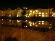 night view of our SSR 3 Bedroom Grand Villa, in The Springs area...