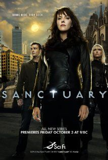 Sanctuary, a canadian tv series. If you are a fan of abnormal creatures, a mixture of mystery, fantasy & SciFi with great visuals and a good cast, than you like this one.