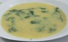 Receita de sopa de rúcula com farelo de aveia para a fase cruzeiro PL dukan.