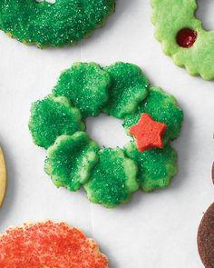 Fluted Wreath Cookies Tutorial