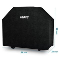 Large BBQ Grill Cover Universal Waterproof Durable w Handles Velcro Straps