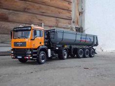 Europäische Lkw`s » MAN TGA XLS 4x4 Kippsattel