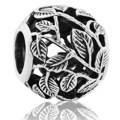 Wild Vines (Spirited) NZ Silver Bracelet Charms - evolve-jewellery.co.nz