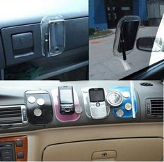 5 Pieces of Sticky Pads SECURE: Non-slip pads holds your radar detector safe and in-place while you drive! EASY & FAST: install, just place the pad on your dashboard and add your radar detector or cell phone, GPS, Radio…even sunglasses, coins, garage door opener. Amazing super grip, strong hold. Works for GPS, satellite radios and cell phones too. MONEY BACK GUARANTEE: Love it or return it no questions asked. Buy with confidence!