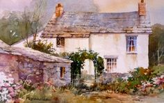 Roland Lee Travel Sketchbook: Painting English Cottages in Watercolor