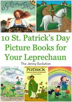 10 St. Patrick's Day Picture Books for Your Leprechaun | The Jenny Evolution