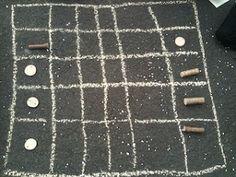 Dara - An Outdoor African Maths Game
