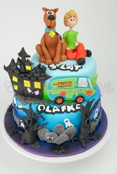 scooby doo taart Mystery Machine Scooby Doo cake | Amazing Cakes | Pinterest  scooby doo taart