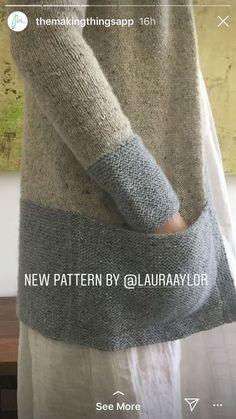 Sweater Knitting Patterns, Knitting Yarn, Crochet Patterns, Knit Or Crochet, Hand Crochet, Knit Basket, Knitting Magazine, Knitting Accessories, Pulls